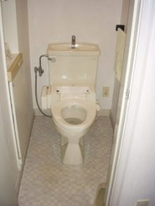 トイレ,リフォーム,三輪緑山
