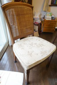 籐椅子修理,町田市金井