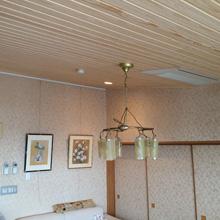 天然木板張り天井,町田市リフォーム