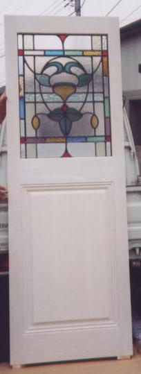 ステンドグラスの建具,町田市