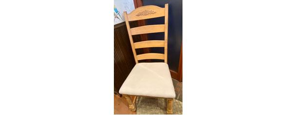 椅子の修理,町田市真光寺