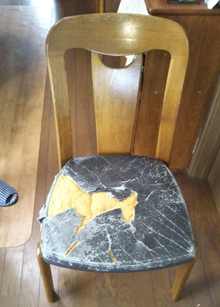 椅子の座面張替,町田市