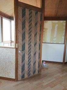 メラミン化粧ボード建具,町田市リフォーム