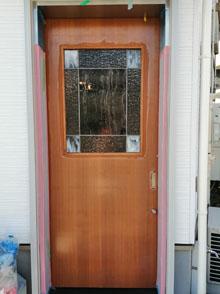 ステンドグラスのドア,柿生店舗